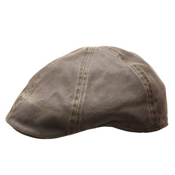 BC Hats Distressed Cotton Ivy Newsboy, Brown
