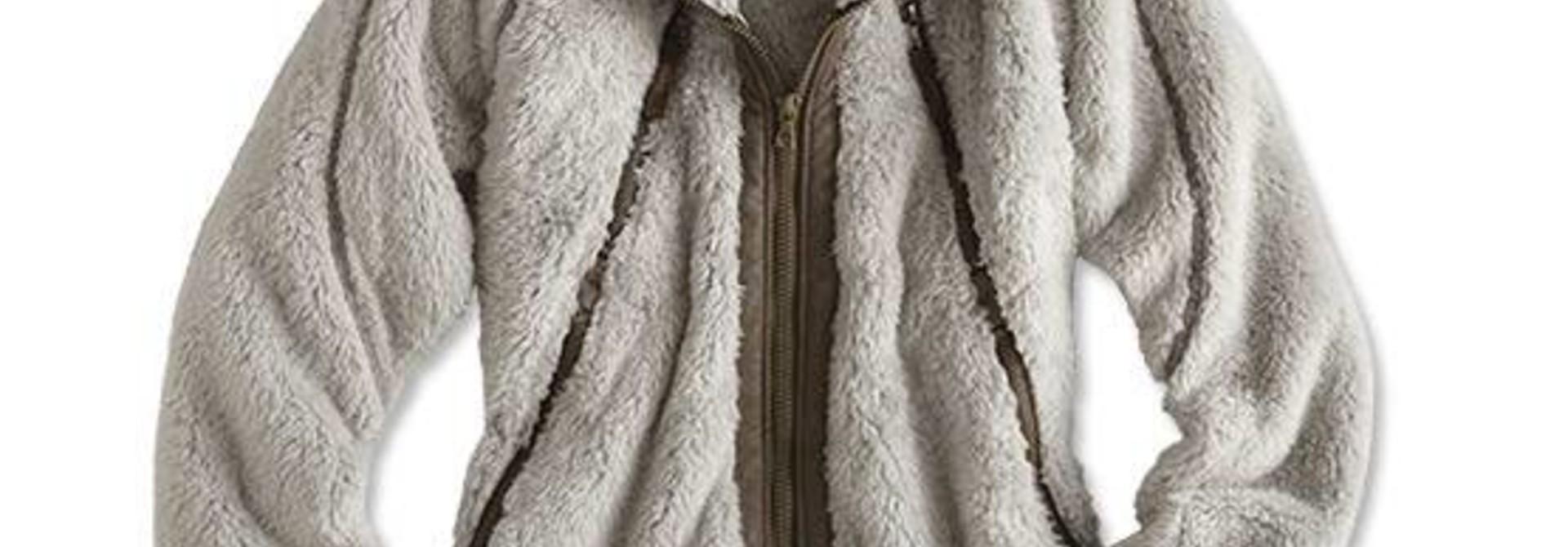 Women's Flight Jacket, Stone