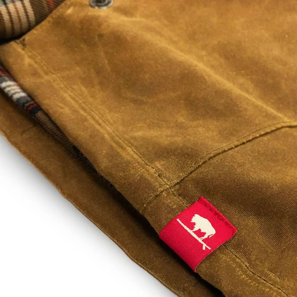 S.L. Revival Co. Manteo Surf Fish Wax Cotton W's Jacket, Brown Ale