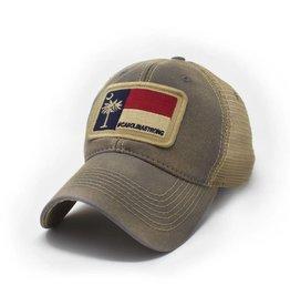 S.L. Revival Co. Carolina Strong Trucker Hat, Driftwood