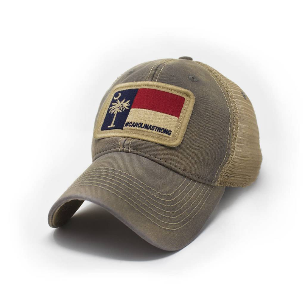 S.L. Revival Co. Carolina Strong Trucker Hat, Driftwood