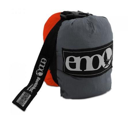 ENO DoubleNest Hammock, Orange/Grey