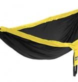 ENO DoubleNest Hammock, Black/Yellow