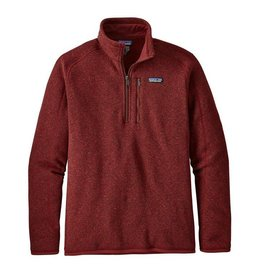Patagonia Patagonia Men's Better Sweater 1/4 Zip, Oxide Red