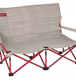 Kelty Kelty Low Loveseat, Tundra/Chili Pepper