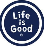 Life is Good Life Is Good Sphere Sticker
