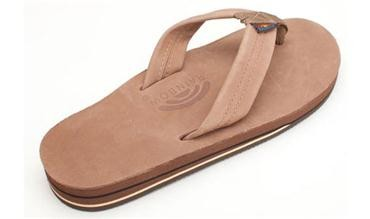 Men's Sierra Brown Premier Leather Double Layer, Thick Strap-3