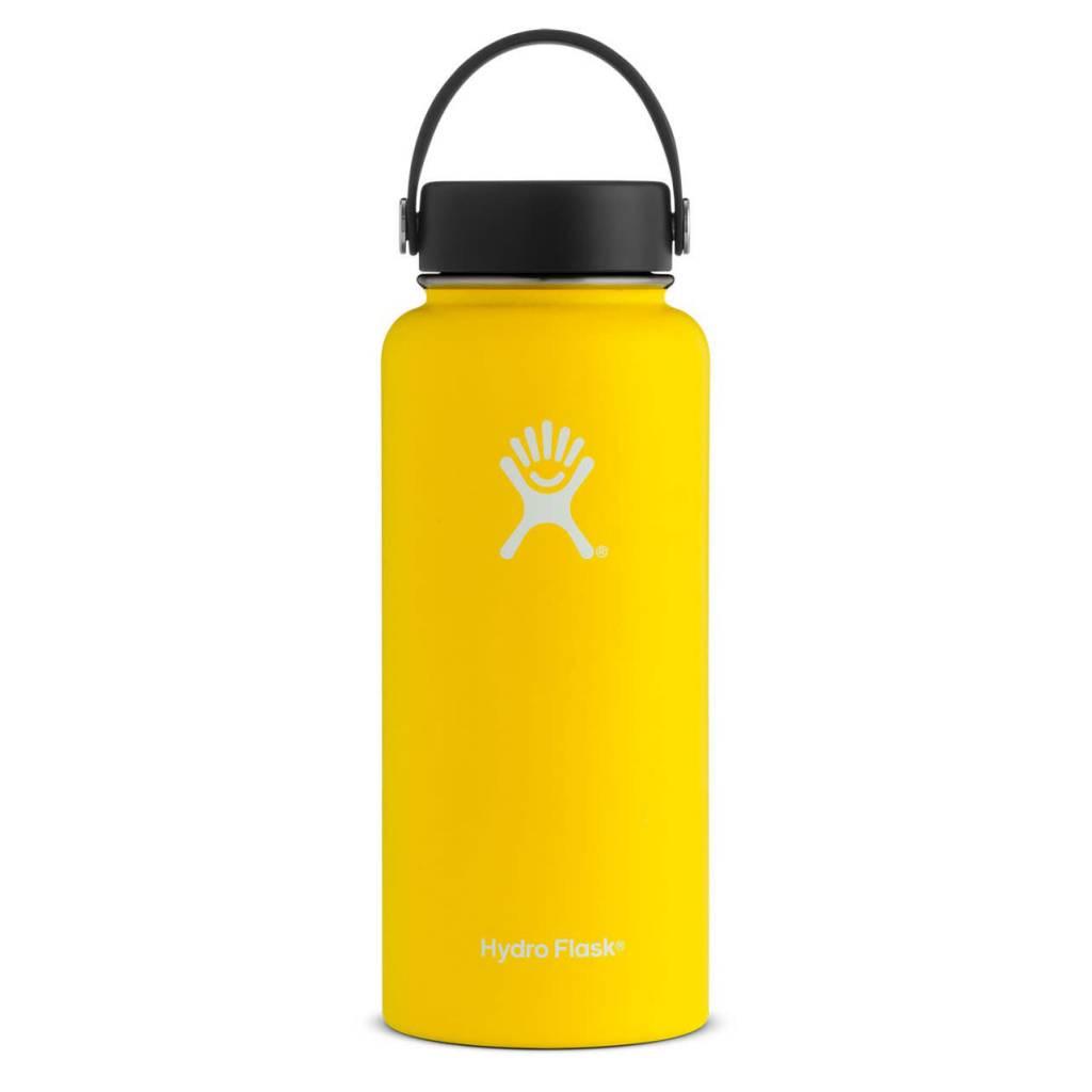 Hydroflask 32 oz. Wide Mouth, Lemon
