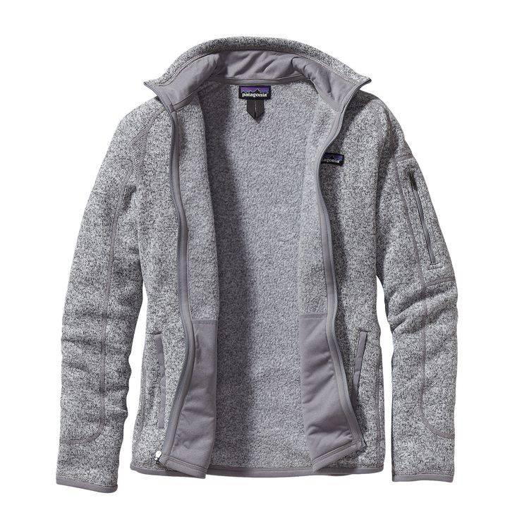 Women's Better Sweater Jacket, Birch White-3