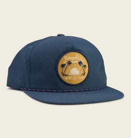 Howler Brothers Script Sunset Unstructured Snapback, Navy/Nylon