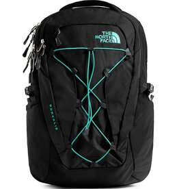 The North Face Women's Borealis Backpack, TNF Black/Mint Blue