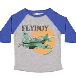 S.L. Revival Co. Kid's Grumman Avenger Bomber T-shirt, Assorted
