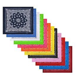 Surf, Wind and Fire 100% Cotton Bandana Single Color