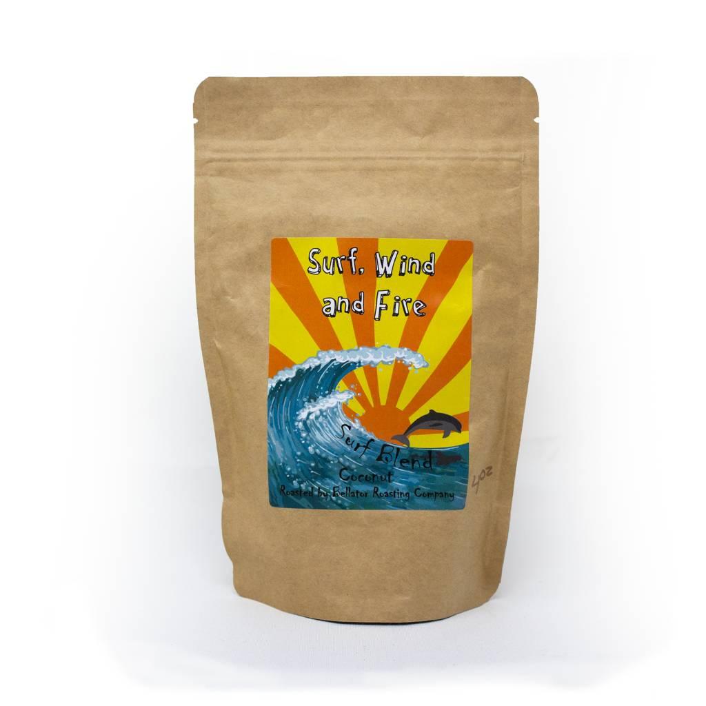 Blue Coconut Surf Blend Coffee, 4oz-1