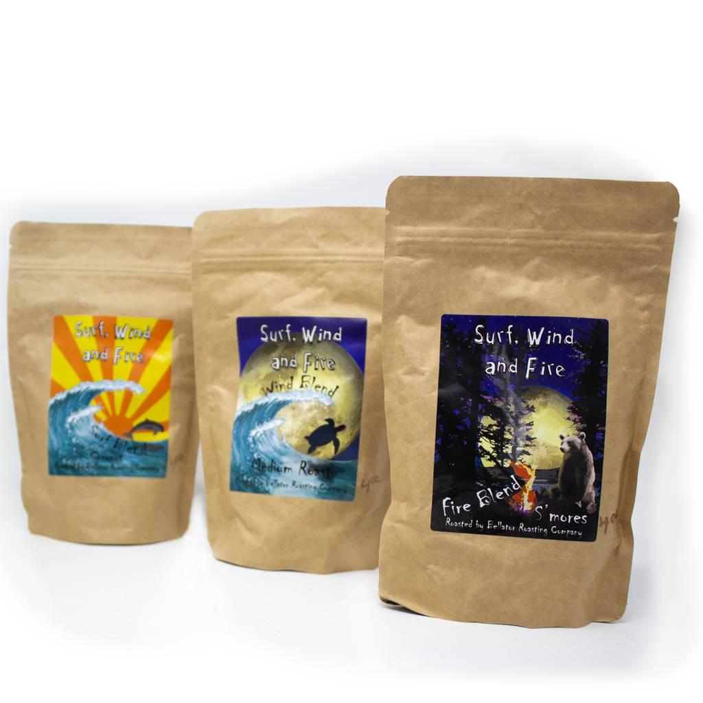 Blue Coconut Surf Blend Coffee, 4oz-3