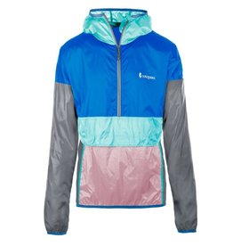 Cotopaxi Teca Half Zip Windbreaker, Unisex, Mint Chip
