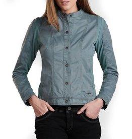 Kuhl Women's Luna Moto Jacket, Mineral Blue