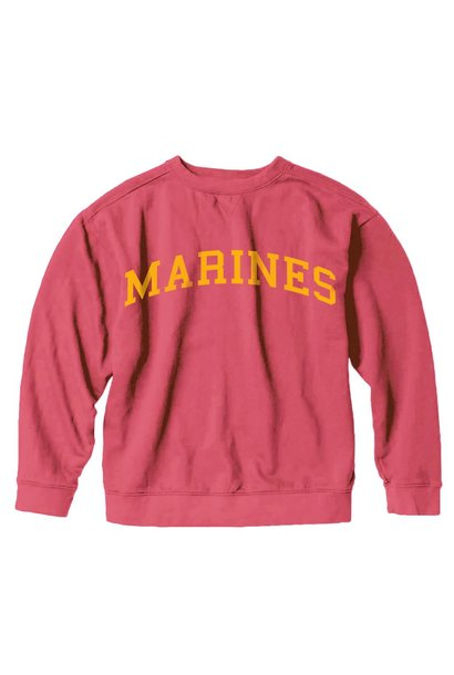 Marines Collegiate Sweatshirt, Red