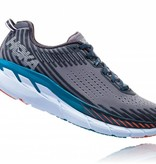 Hoka One One M's Clifton 5, Frost Grey/Ebony