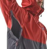 Patagonia Men's Torrentshell Jacket, Big Sur Blue w/Fire Red