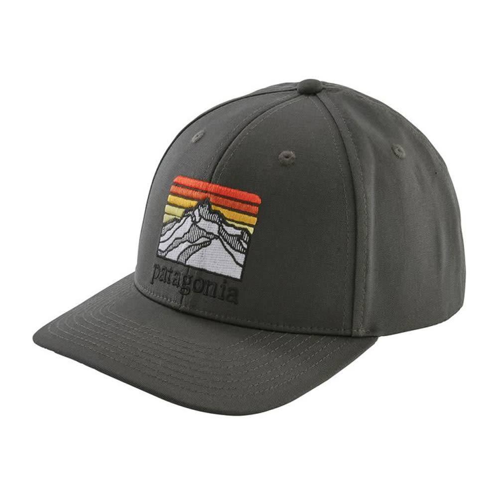 Patagonia Line Logo Ridge Roger That Hat, Forge Grey