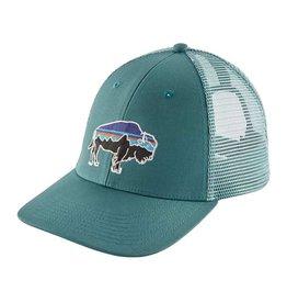 Patagonia Fitz Roy Bison LoPro Trucker Hat, Tasmanian Teal