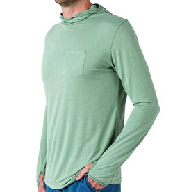 Free Fly M's Bamboo LW Hoody, Spartina Green
