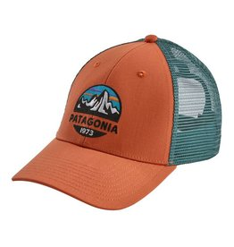 Patagonia Fitz Roy Scope LoPro Trucker Hat, Sunset Orange