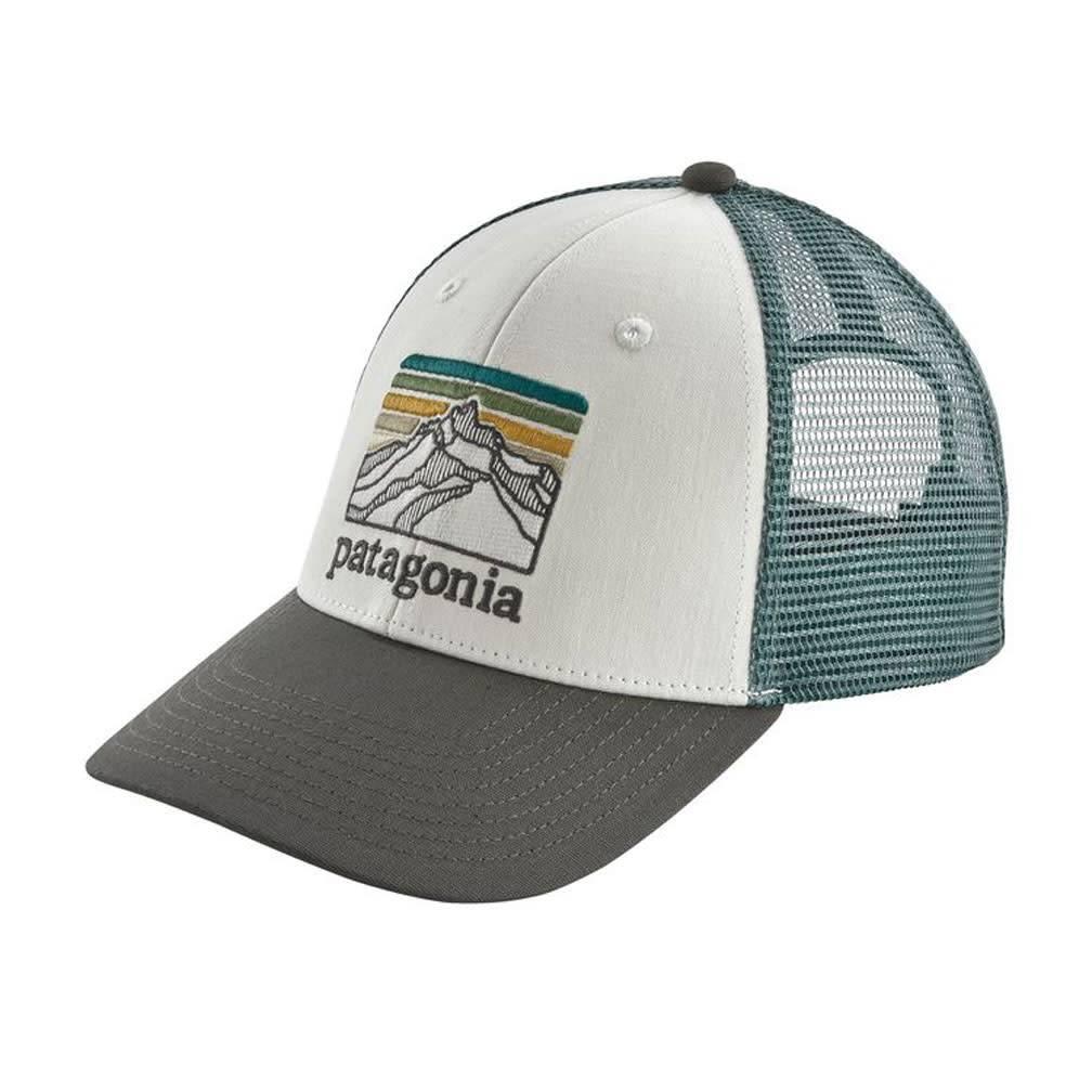 Patagonia Line Logo Ridge LoPro Trucker Hat, White