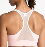 The North Face W's Bounce-Be-Gone Novelty Bra, Pink Salt