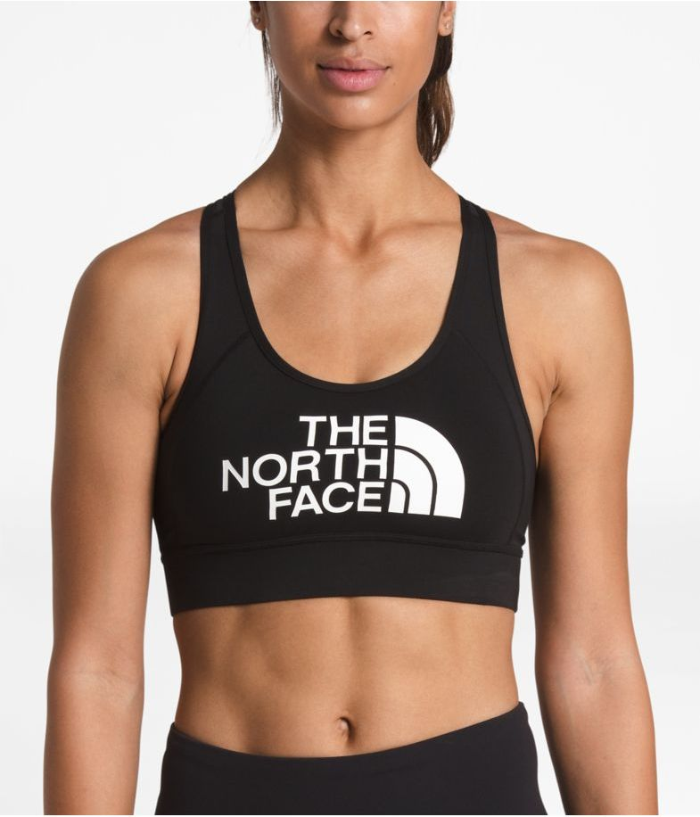 The North Face W's Bounce-Be-Gone Novelty Bra, TNF Black