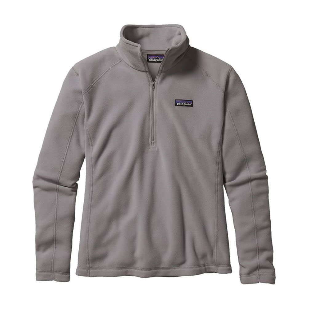 Patagonia W's Micro D 1/4 Zip, Feather Grey