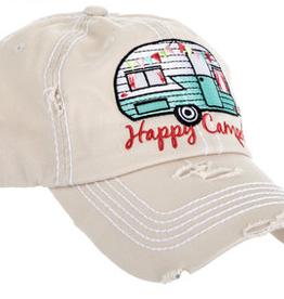 Orig, Happy Camper Hat, Asst.