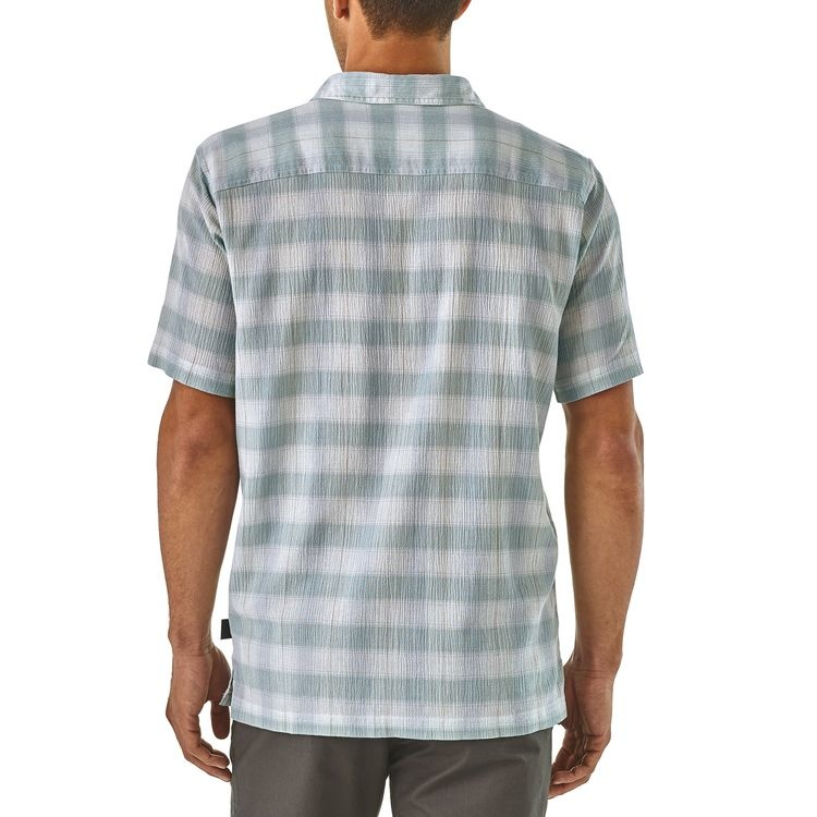 Patagonia Men's A/C Shirt, Arthur: Dam Blue