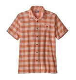 Patagonia Men's A/C Shirt, Haven: Light Pink Sherbert