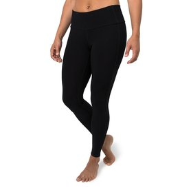 Free Fly Women's Bamboo Full-Length Tights, Black
