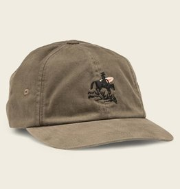 Howler Brothers Lone Rider Strapback Hat, Moss