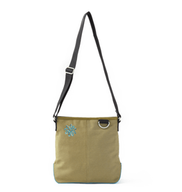 Life is Good Wayfarer Cross Body, Blended Daisy, Fatigue Green