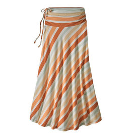 Patagonia W's Kamala Maxi Skirt, Water Ribbons: Sunset Orange