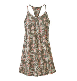 Patagonia W's Edisto Dress, Las Flores: Marrow Grey
