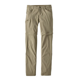 Patagonia W's Quandary Convertible Pants, Reg, Shale