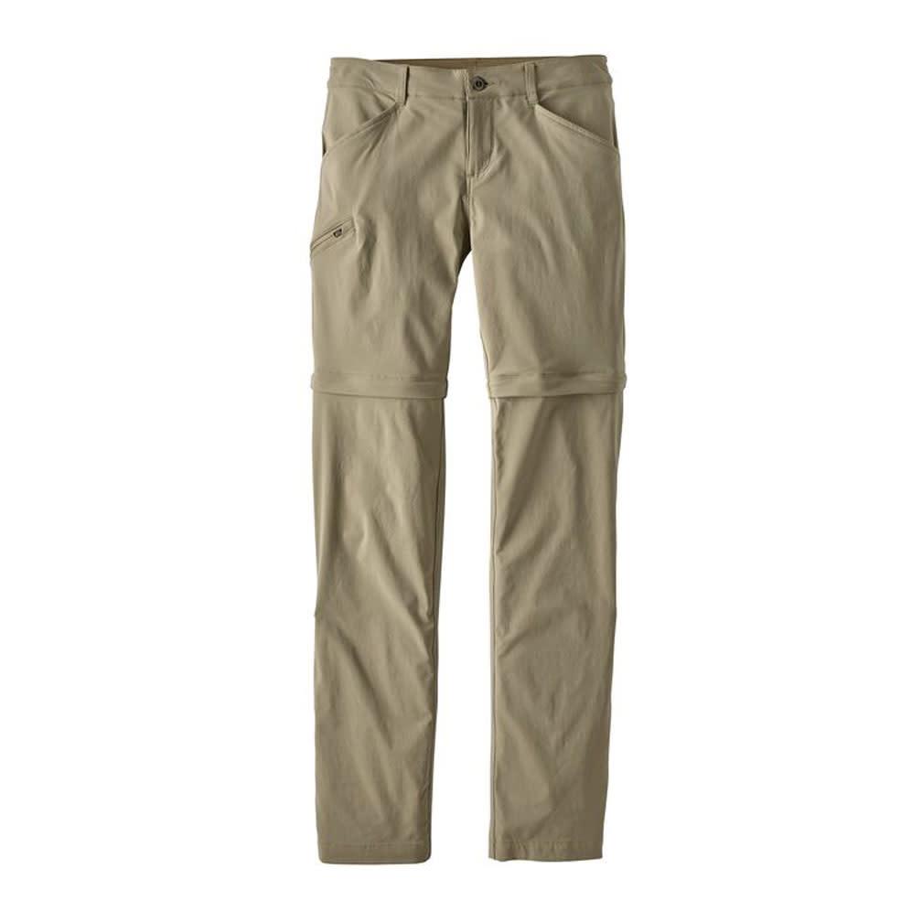 Patagonia W's Quandary Convertible Pants, Reg, Shale