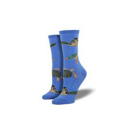 Socksmith W's Sea Turtles, Periwinkle