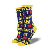 Socksmith W's SPAM, Blue