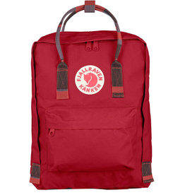 FjallRaven Kanken, Deep Red-Random Blocked