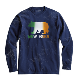 S.L. Revival Co. New Bern Irish Bear, Navy