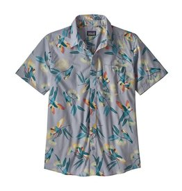 Patagonia M's Go To Shirt, Parrots: Ghost Purple