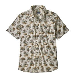 Patagonia M's Go To Shirt, Palms of My Heart: Dyno White