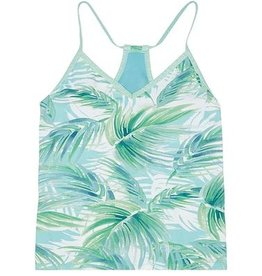 Carve Designs Catalina Tankini, White Palms