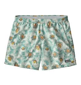 Patagonia W's Baggies Shorts, Aurea Blooms: Atoll Blue
